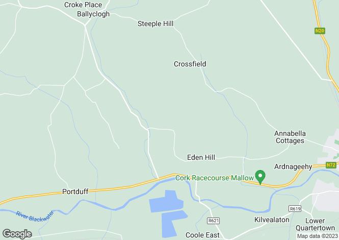 Map for Gortnagross, Mallow, Cork
