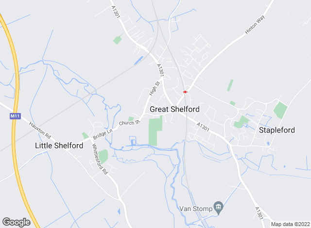 Map for Tucker Gardner, Great Shelford