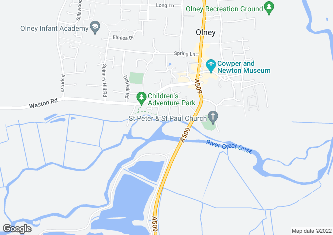 Map for Wagstaff Way,