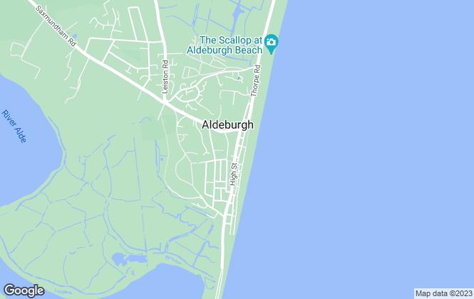 Map for Best Estates Estate Agency Ltd, Aldeburgh