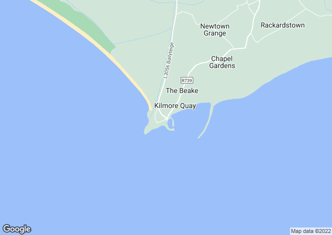 Map for Kilmore Quay, Wexford