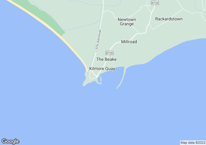Map for Wexford, Kilmore Quay