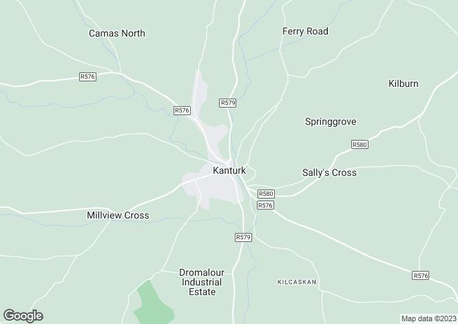 Map for 6E Egmont Court, Kanturk, Cork