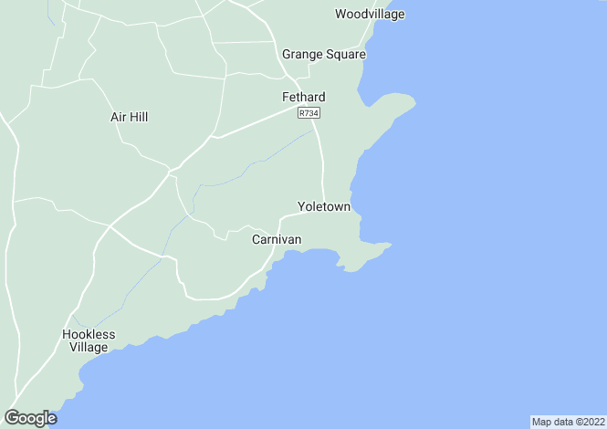 Map for Fethard, Wexford