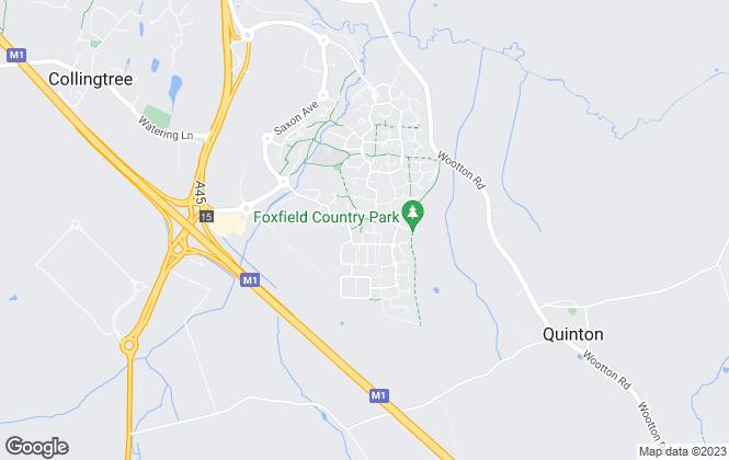 Map for Portfolios Property Management, Northampton