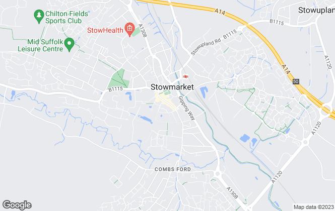 Map for Abbotts, Stowmarket