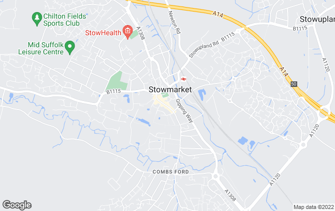 Map for Maxwell Brown, Stowmarket