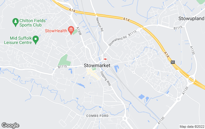 Map for Martin & Co, Stowmarket, Hadleigh & Woodbridge - Lettings & Sales
