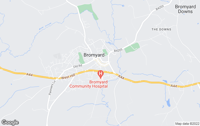Map for Barry Bufton, Bromyard