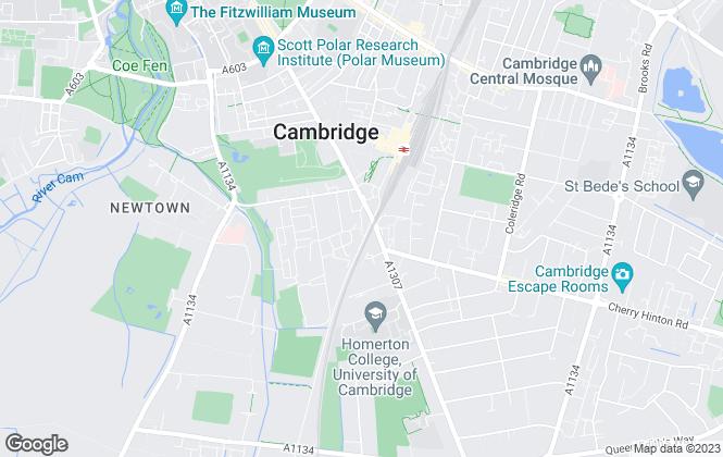 Map for Savills , Cambridge
