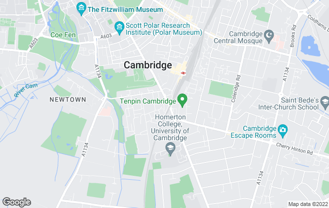Map for Savills, Cambridge