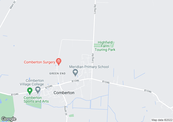 Map for Bakers Close, COMBERTON