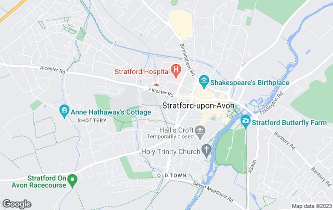 Map for Changemaker Property, Stratford-Upon-Avon