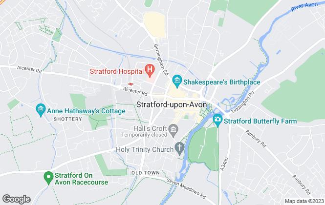 Map for Charles Saville, Stratford