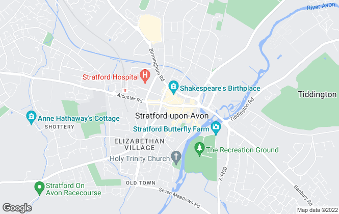 Map for Retirement Security Ltd, Stratford upon Avon