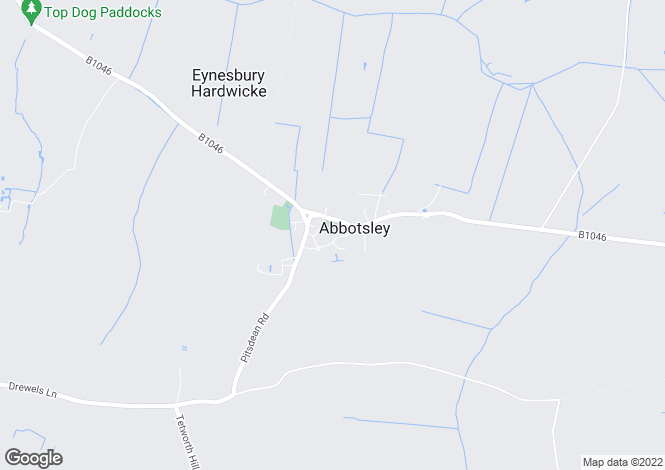 Map for TOP LANE, ABBOTSLEY