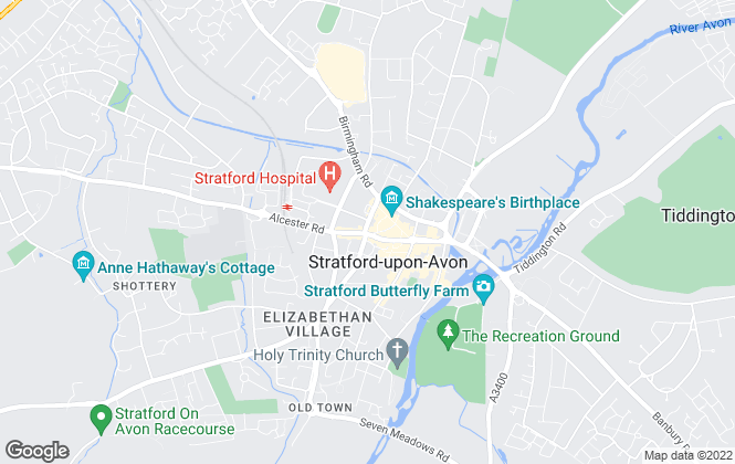Map for Westbridge & Co Commercial Limited, Stratford Upon Avon