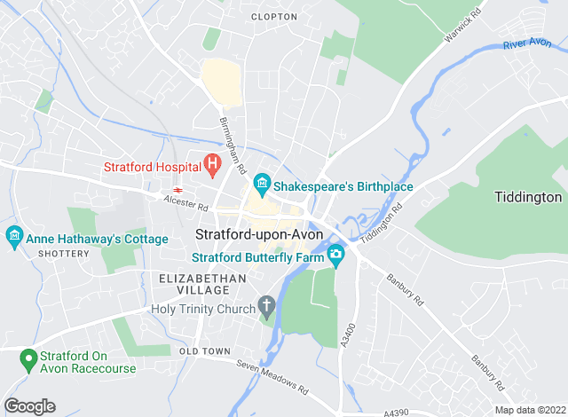 Map for CPBigwood, Stratford Upon Avon - Lettings