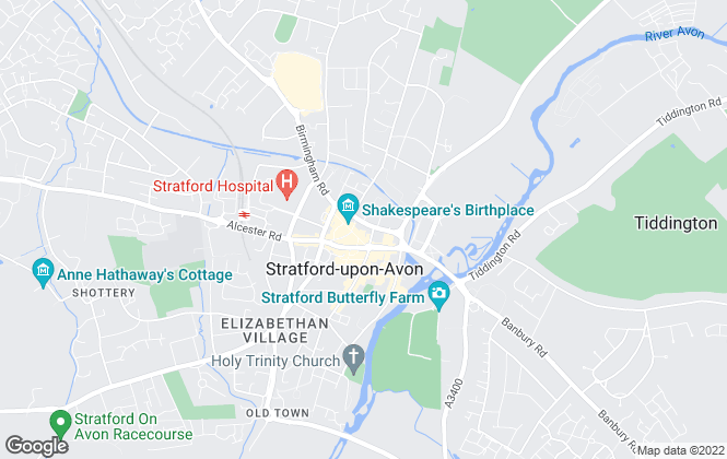 Map for Victoria Jeffs Estate Agents, Stratford-Upon-Avon