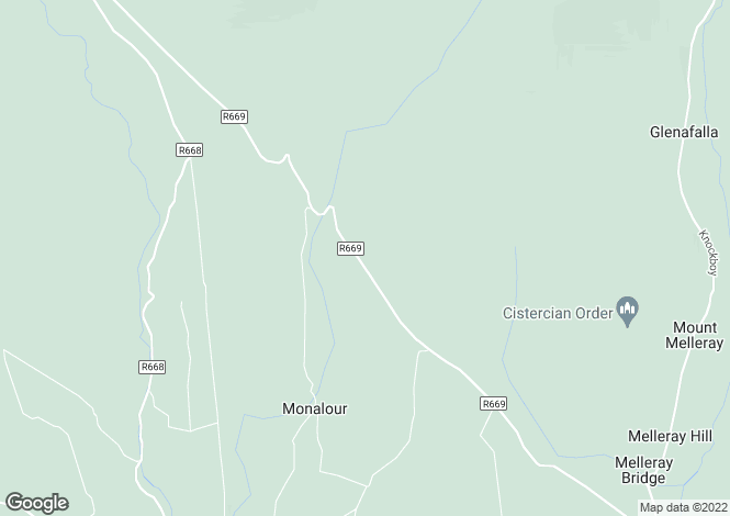 Map for Lismore, Waterford