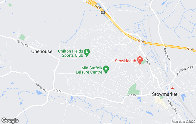 Map for Abode East Anglia Ltd, Stowmarket