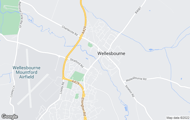 Map for Connells, Wellesbourne