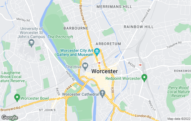Map for Leaders, Worcester