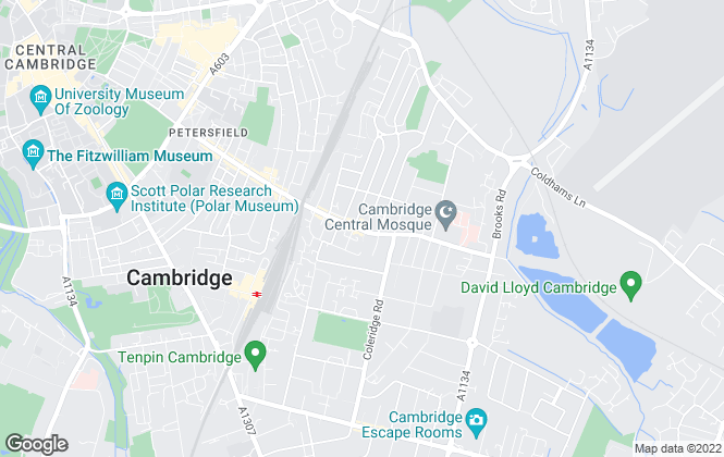 Map for Martin & Co, Cambridge