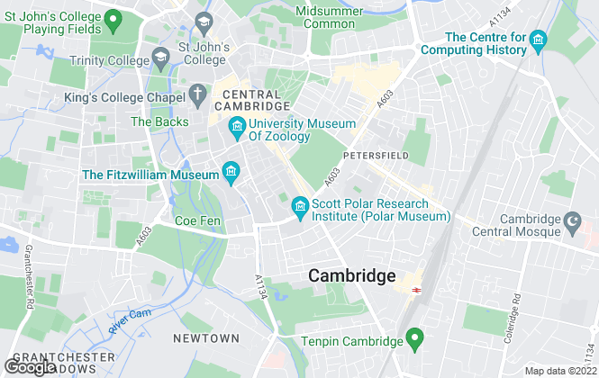 Map for Hockeys Estate Agents, Cambridge