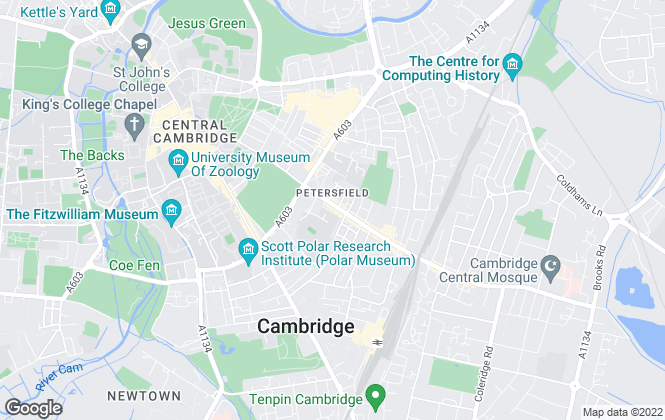 Map for SAB, Cambridge (Lettings)