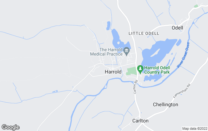 Map for Daniel James Estate Agents, Harrold