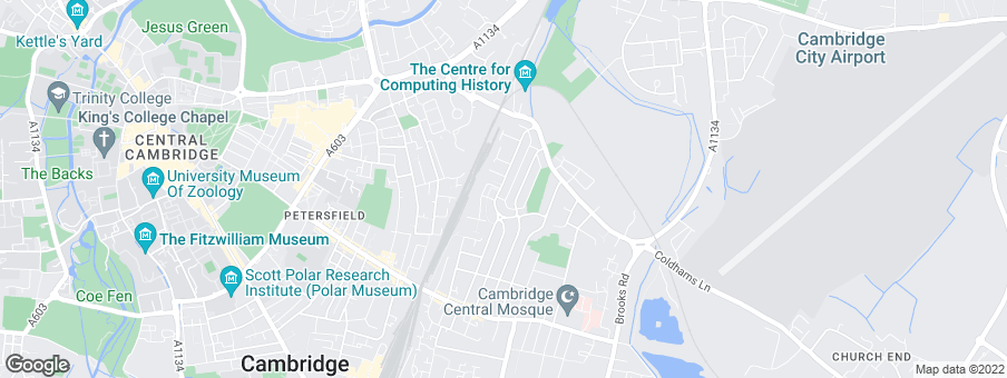 Map for Hill Residential Limited