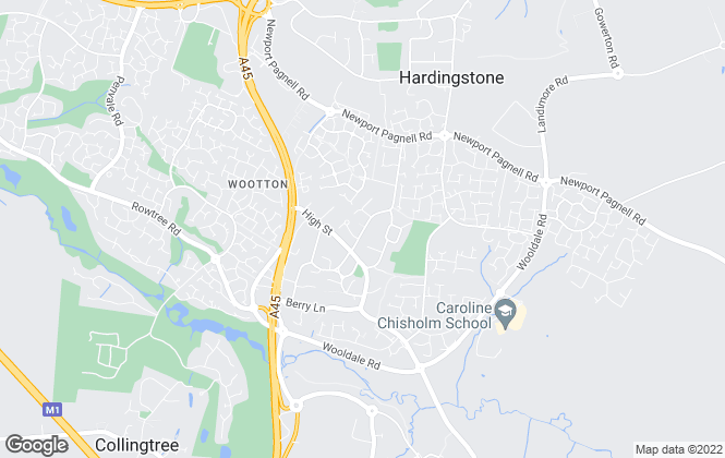 Map for Albion Sales & Lettings, Wootton