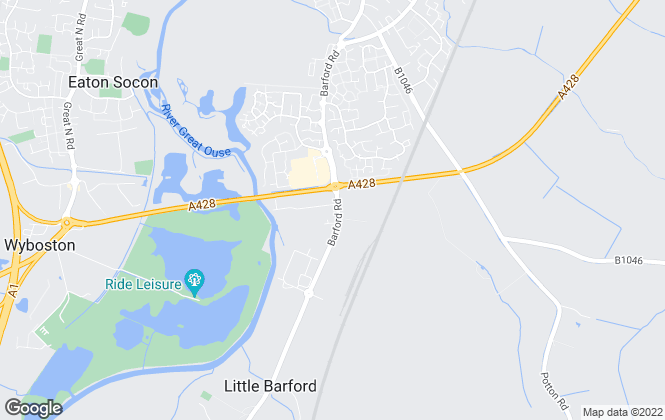 Map for Cliftons, St Neots