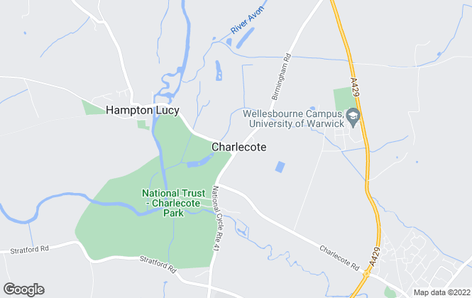Map for Holt Property Limited, Warwickshire