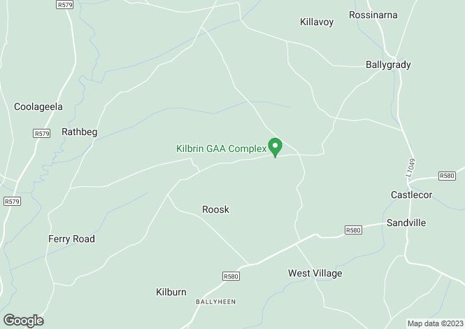 Map for Garranmacgarrett, Kilbrin, Cork
