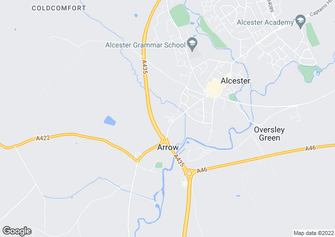 Map for Arrow,