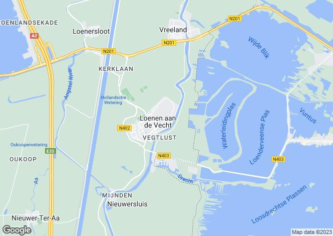 Map for Utrecht, Loenen