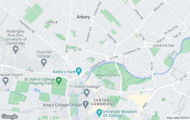 Map for Lambert Smith Hampton, Cambridge
