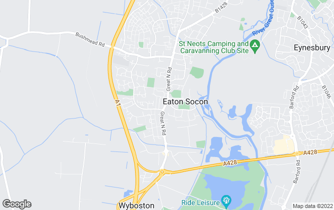 Map for Giggs & Company, St Neots