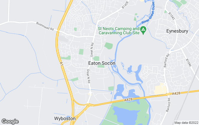 Map for L2 Homes, St Neots