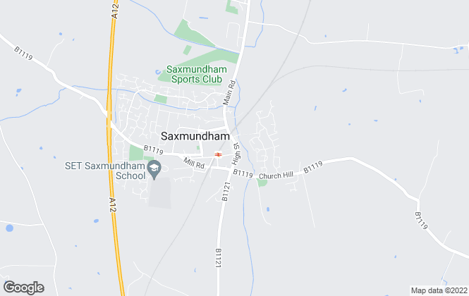 Map for Suffolk Coastal , Saxmundham