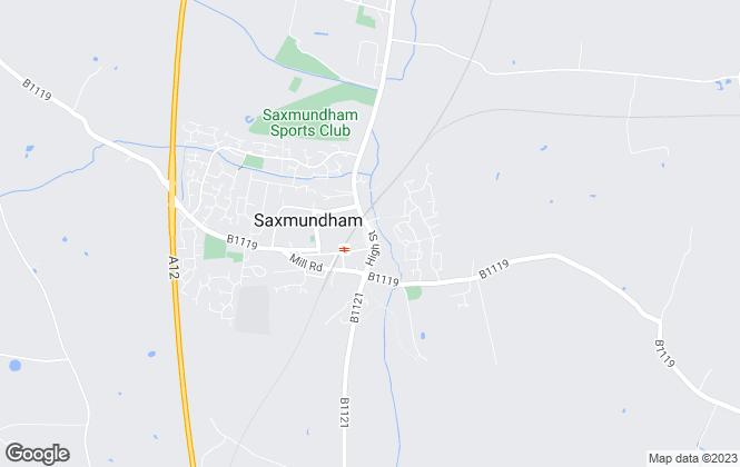 Map for Jennie Jones Estate Agents, Saxmundham