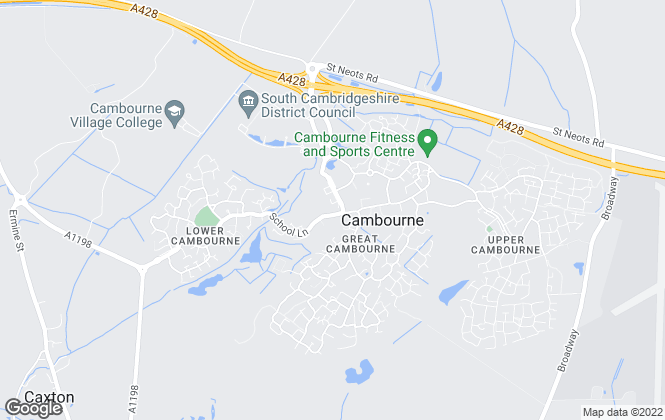 Map for Malcolms, Great Cambourne