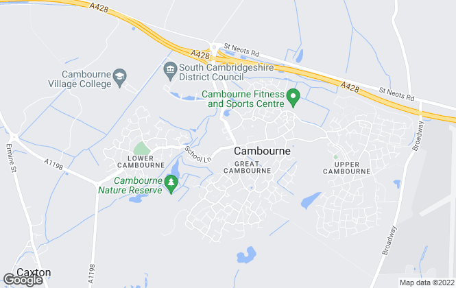 Map for Connells, Cambourne/Cambridge
