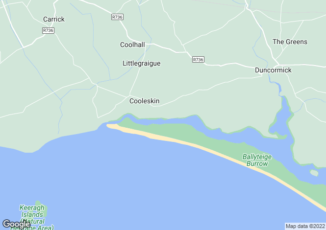 Map for Duncormick, Wexford