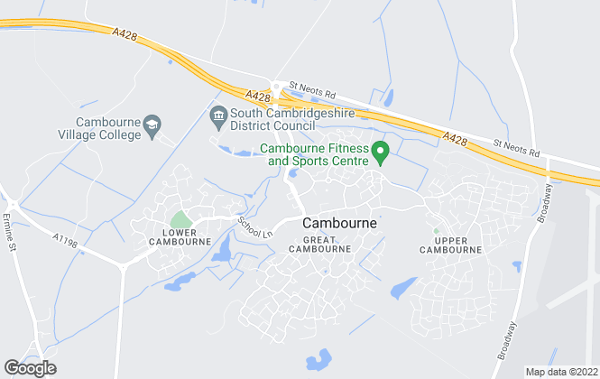 Map for Lillys lettings, Great Cambourne - Lettings