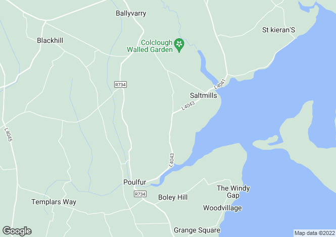 Map for Saltmills, Wexford