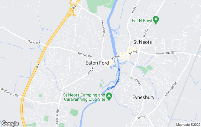 Map for Sell New, St. Neots