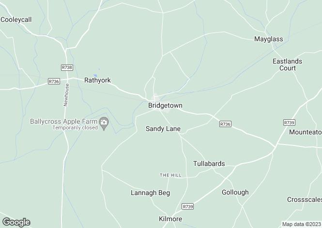 Map for 7 An Caislean, Bridgetown, Wexford